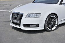 RIEGER Spoilerlippe Audi A6 4F ab Facelift  ABS/ RIEGER-Tuning