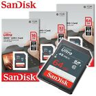 SanDisk Ultra Class10 UHS-I SD 16GB 32GB 64GB 48MB/s SD HC / SD XC memory card