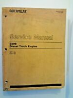Caterpillar Service Manual - 3208 Diesel Truck Engine 32Y1-Up / 51Z1-Up