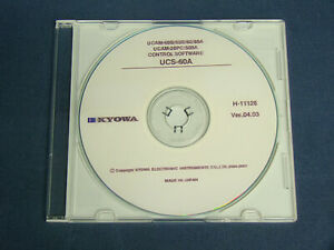 KYOWA UCS-60A Control Software for UCAM-60A UCAM-65A UCAM-20
