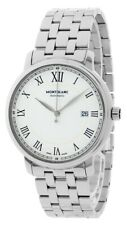 Watch Montblanc Tradition Date Automatic 40mm 112610 steel bracelet