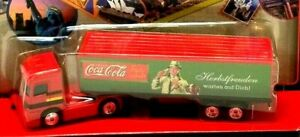 Matchbox Mercedes-Benz Semi Truck Coke Around The World Germany Coca Cola (G17)