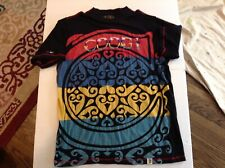 Coogi Embroidered & Patterned Heavy Duty Colorful T Shirt SZ XL - Cool