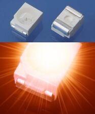 S024 - 100 Stück SMD LED PLCC-2 3528 orange LEDs 1210 amber