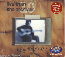 KFOG LIVE FROM THE ARCHIVES #10 cd New SEALED TORI AMOS Coldplay STEVE WINWOOD