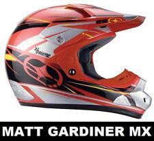No Fear Mx Motocross Casco Nuevo primer Evo Rojo X-small Quad Enduro Bmx