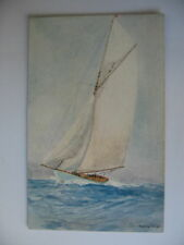 POSTCARD SHIPS  Yacht    S Wright