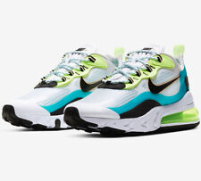 "Nike Air Max 270 React SE ""Oracle Aqua/Ghost Green/Washed Coral/Black Mens Shoes"