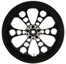KOOL KAT REAR BLACK WHEEL 18 X 5.5 HARLEY CUSTOM SOFTAIL RIGID CHOPPER BOBBER