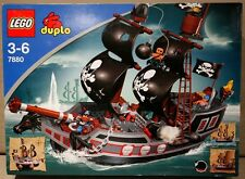 Lego Duplo 7880 Nave Pirati Big Pirate Ship NUOVO NEW RARO RARE 10210 4184 4195