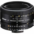 Nikon 2137 50mm f/1.8D Auto Focus Nikkor Lens for Digital SLR Cameras New Import