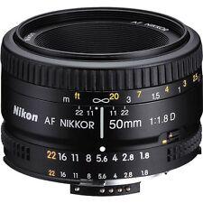 Nikon  50mm f/1.8D Auto Focus Nikkor Lens