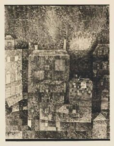 Paul Klee Night Impression Of A Southern Town Canvas Print 16 x 20        #4417