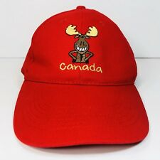 Canada Moose Baseball Hat Cap 100% Cotton Strap Back