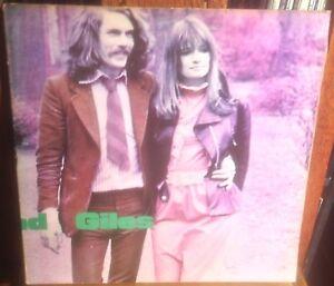 McDONALD AND GILES self titled 1970 UK PINK LABEL ISLAND i LOGO STEREO VINYL LP