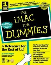 For Dummies: The iMac for Dummies by David Pogue (1998, Paperback)