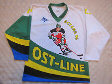 OST-LINE ASTANA 1994 - Practice Russian Hockey Jersey #4 XS