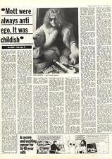 Mott The Hoople Big Game Hunter MM4 Interview 1974