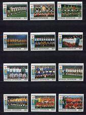 s5572) CENTRAFRICAINE REP. 1981 MNH** WC Football'82 - CM Calcio 12v IMPERF