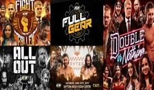 2019 AEW DVD All 5 events All Elite Wrestling