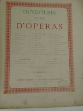 NORMA AIRS POUR VIOLON SEUL OPERA ancienne partition IKELMER