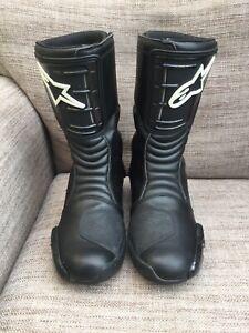 Alpinestars SMX-4 Motorcycle Boots Size (euro 44)