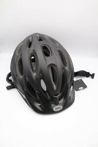 Bell Tracker Cycle Helmet - Universal Adult Size 54-61cm. Matte Black Box Damage