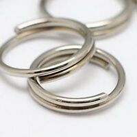 5mm Silver Stainless Steel Split Jump Rings Findings Connectors Jewelry Making