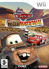 Cars Mater National Championships Nintendo Wii New and Sealed