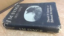 J. M. Synge 1871-1909, J.M. Synge, The Macmillan Company, 1959, H