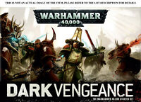 Warhammer 40K Dark Vengeance starter set Units - select one or more