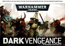 Warhammer 40K Dark Vengeance Units new on sprue - Multilisting (Rare, OOP)