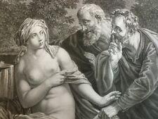 GUIDO RENI / SUZANNE SURPRISE AU BAIN 1862
