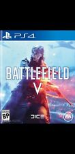 Battlefield V 5 ps4 (no cd leer descripcion )