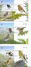PORTUGAL AZORES MADEIRA EUROPA 3 MNH SOUVENIR SHEETS 2019 BIRDS