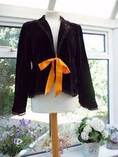 Per Una Hip Length Velvet Formal Coats & Jackets for Women