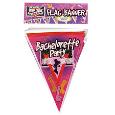 Bachelorette Hens Party Flag Banner Hanging Decoration 2.6m long Free Postage