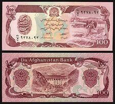Afganistan - Afghanistan 100 Afghani  1979  Pick 58a2   SC = UNC