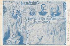 C912) CORDA FRATES, ROMA, RICORDO I CONGRESSO UNIVERSITARIO INTERNAZIONALE. VG.