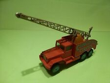 CORGI MAJOR TOYS 1121 INTERNATIONAL 6x6 CRANE TRUCK - CHIPPERFIELD CIRCUS - GOOD