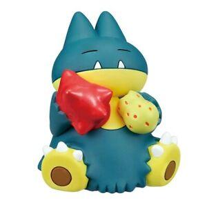 Pokemon Sun & Moon Manpuku Pakupaku mascot - Munchlax - mini figure Takara Tomy