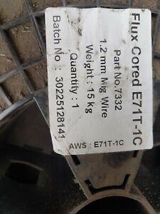 MIG WELDING WIRE MILD STEEL ROLL FLUX CORED 1.2 mm 15 kg