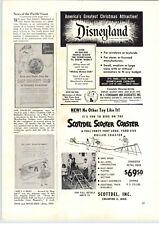 1955 PAPER AD Scottdel Scooter Coaster Backyard Roller Coaster Magna Power Motor