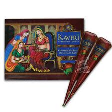 Fresh Kaveri Naturale Di Alta Qualità Henné Mehndi Tatuaggio cono più oscuri Brown UK