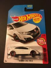 2017 Hot Wheels #327 - Then and Now 1/10 : 2016 '16 Honda Civic Type R