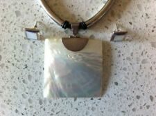 Mother of Pearl Shell Handcrafted Necklaces & Pendants