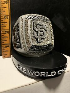 SF Giants VIP 2012 World Series Championship Desktop Collectible Replica Ring