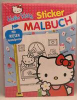 Malbuch/  Hello Kitty + 40 Sticker und Riesenposter /  neu und OVP / ab 4+