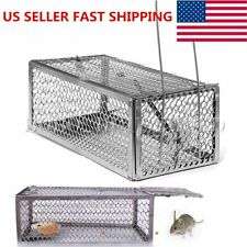 Live Humane Cage Trap for Chipmunk Rat Mice Squirrel Rodent Animal Catcher