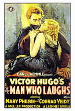 THE MAN WHO LAUGHS Movie POSTER 27x40 Conrad Veidt Mary Philbin Olga Baclanova